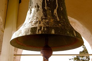 Rusty Church Bell