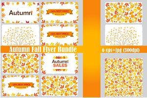 Autumn Fall Flyer Bundle