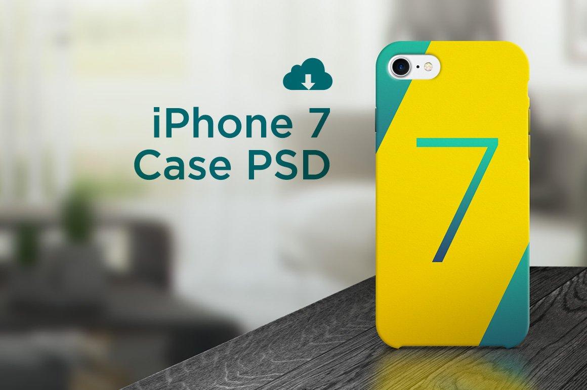iPhone 7 case PSD ~ Product Mockups ~ Creative Market