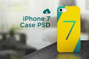 iPhone 7 case PSD