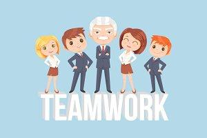 Teamwork characters