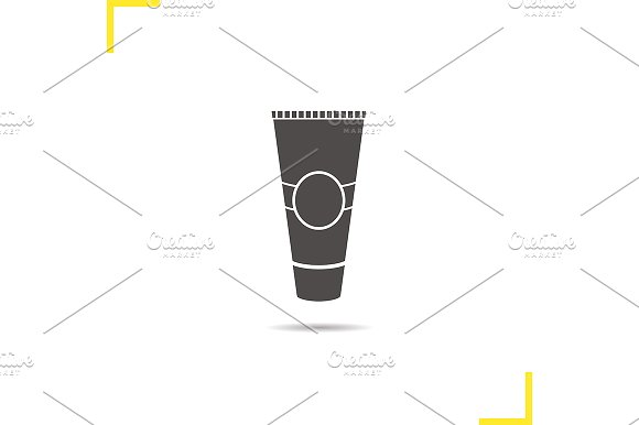 Tube for cream icon. Vector - Icons