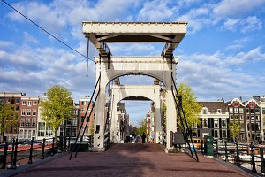 Magere Brug in Amsterdam