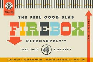 Firebox | Slab Serif Font
