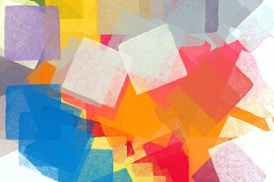 Abstract Colorful Squares