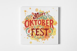 Oktoberfest Lettering