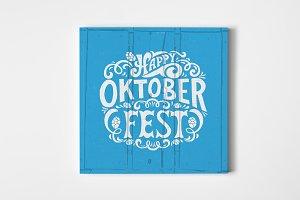Happy Oktoberfest Logotype