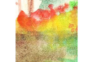 Watercolor autumn abstract texture
