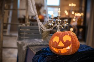 Interior Halloween