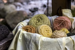 Plant-Dyed Yarns
