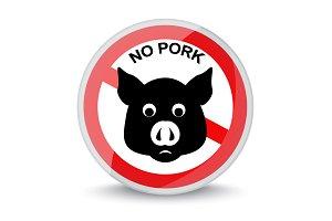 no pork