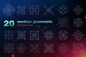 20 nuclear geometric compounds