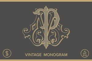 MP Monogram PM Monogram