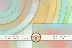 Pastel Chalk Blenders 2:  16 texture