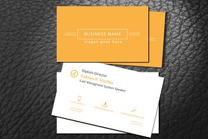 Simple Web Style Business Card