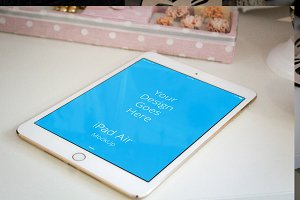 Apple iPad Display Mock-up#36