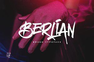 Berlian | Brush Font