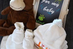 Clothing from baby with Teddy