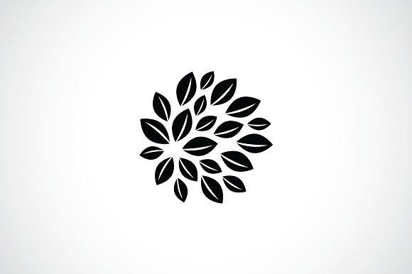 leaf ball logo template logo templates creative market