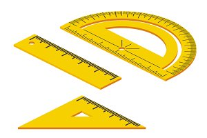 2:1 Isometric Measuring Tools