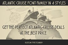 Atlantic Cruise Font Family