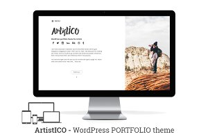 ArtistICO - Wordpress Theme