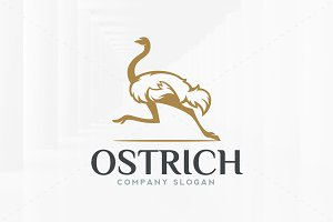 Ostrich Logo Template