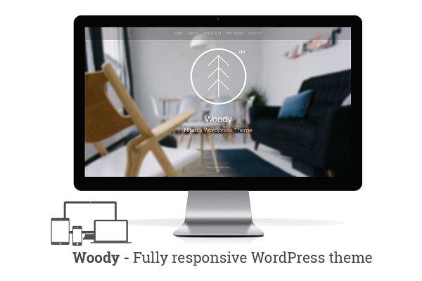 Woody - Minimal portfolio WP theme