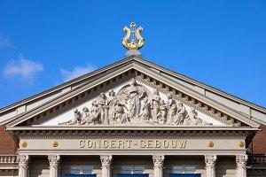 Concertgebouw Pediment in Amsterdam