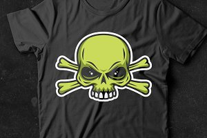 Vector Skull and Crossbones (8)