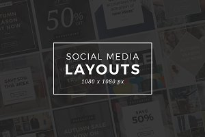 Instagram Social Media Layouts