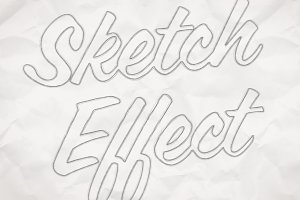Hand Drawn Sketch Effect