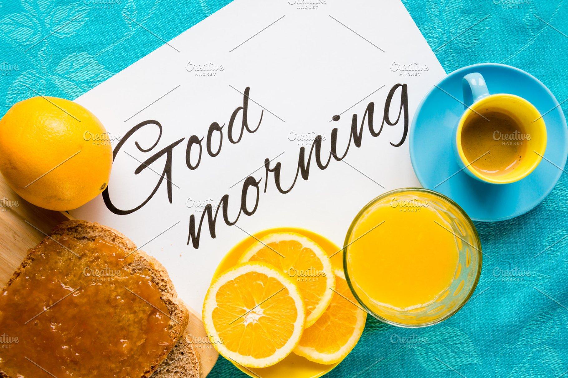 Good Morning With Healthy Breakfast Food Drink Photos Creative