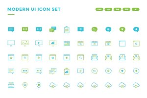 50% OFF - Modern UI Icon Set