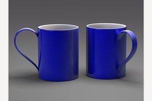 Blue Mugs