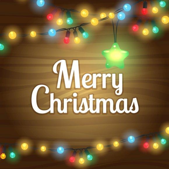 christmas lights border frame graphics - Christmas Lights Frame