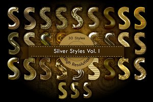 Gold Photoshop Layer Styles