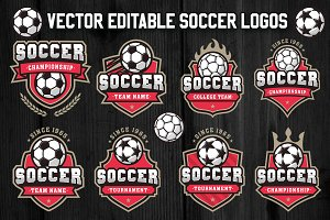 Soccer and Football Logos 3