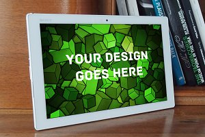Tablet Display Mock-up#3