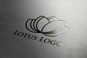 9 Lotus Flower Logo Collection