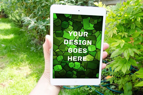 Tablet Display Mock-up#6 - Product Mockups