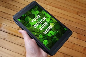 Tablet Display Mock-up#10