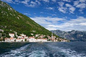 Small town Perast, Montenegro