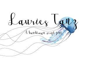 Lauries Tanz Script Font