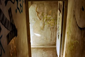 Abandoned House Staircase