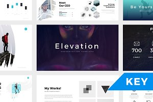 Elevation Minimal Keynote Template