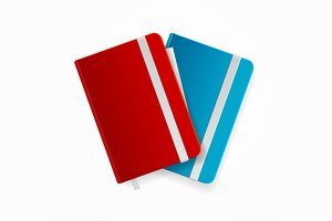 Blank Copybook Template Set. Vector