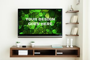 Television Display Mock-up#1