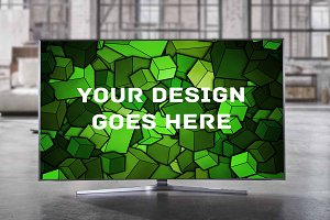 Television Display Mock-up#7