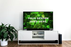 Television Display Mock-up#9
